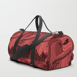 Eagle - Chile Oil Red Duffle Bag