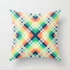 Retrographic Throw Pillow