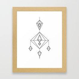 Himmeli 3 Framed Art Print