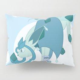 Ice Steampunk Fox Pillow Sham