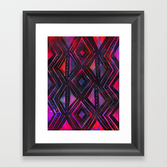 KENYA Framed Art Print