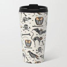 Halloween X-Ray Metal Travel Mug