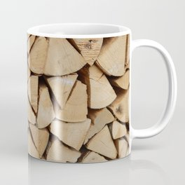 Wooden textures of different materials and execution techniques Coffee Mug