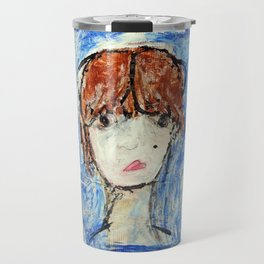 Self Portrait #1 Misslead Travel Mug