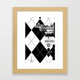 Arg//le Framed Art Print