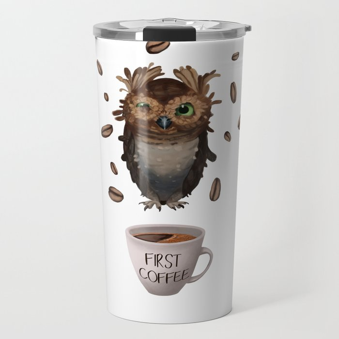 Coffee First Travel Mug
