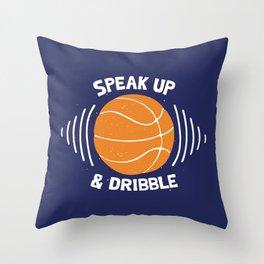 DR/BBLE Throw Pillow