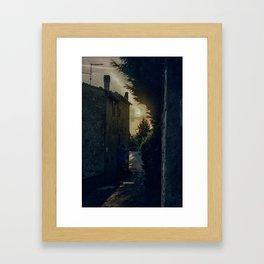 Pienza Framed Art Print