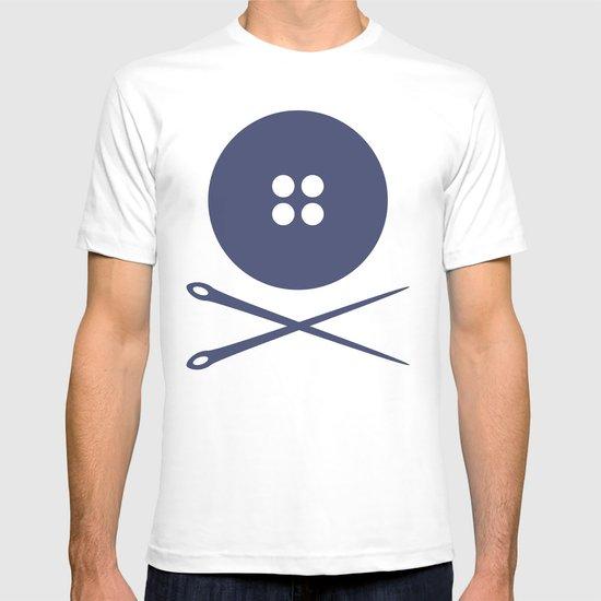 BUTTON SKULL T-shirt