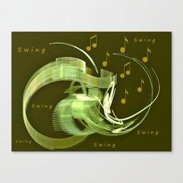 Jive Canvas Print
