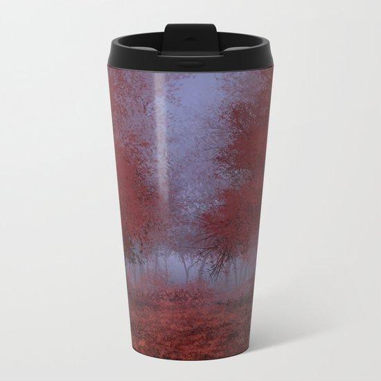 red forest Metal Travel Mug