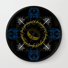 In the darkness bind them Wall Clock