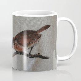 A red Bird Coffee Mug