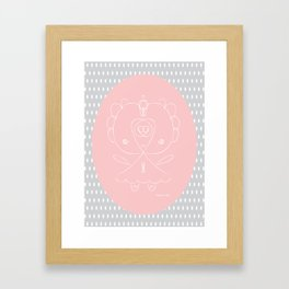 Girlie Girl II Framed Art Print