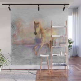 Artistic Animal Horse Wall Mural