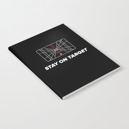 Stay on target Notebook