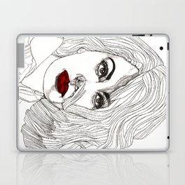 Sophia with Red Lips Laptop & iPad Skin