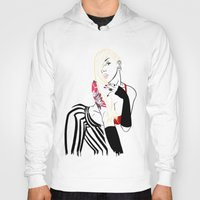 celebrity Hoodies featuring Celebrity by Nunyah Bidness