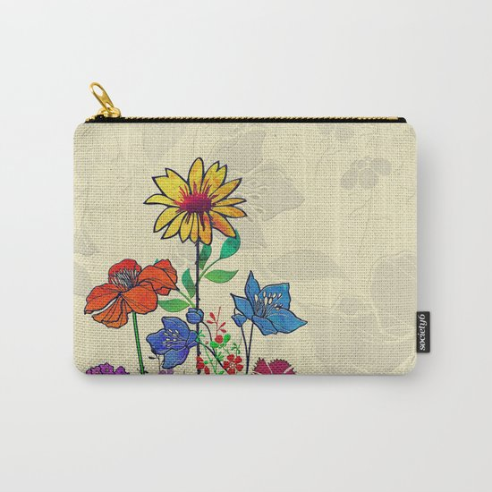 Flower Tales 5 Carry-All Pouch