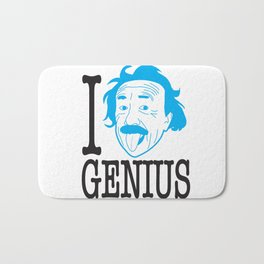 I __ Genius Bath Mat