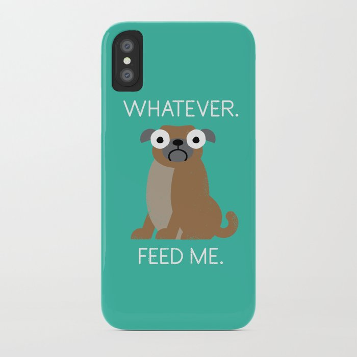 The Pugly Truth iPhone Case