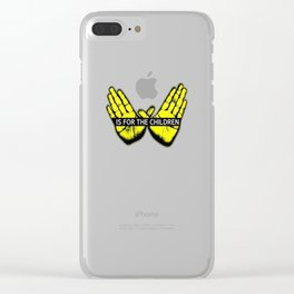 Wu Tang is for the children Clear iPhone Case