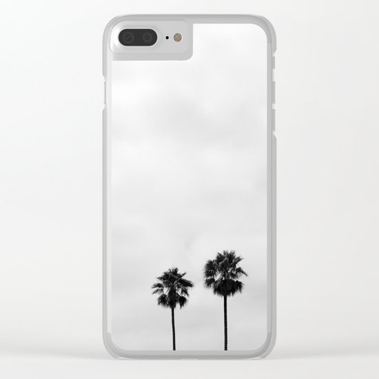 L.A. Palms Clear iPhone Case