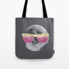 Cool moon Tote Bag