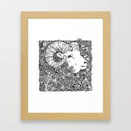 Worsheep Framed Art Print