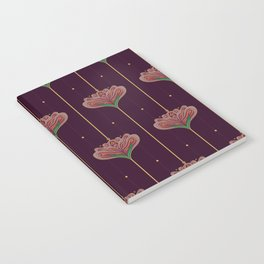Wallpaper Floral Pattern In Style OF William Morris Notebook