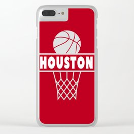 Houston Clear iPhone Case