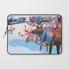 Reindeers and friends Laptop Sleeve