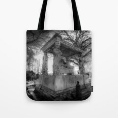 Kensal Green Cemetery London Tote Bag