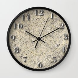 Particle Vectors Wall Clock