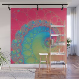 Rainbow Tentacle Wall Mural
