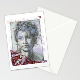 Sacred Youth Sketch Stationery Cards