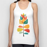spring Tank Tops featuring Spring Time Memory by Picomodi