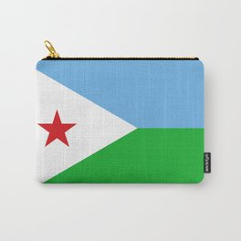 Flag of Djibouti Carry-All Pouch