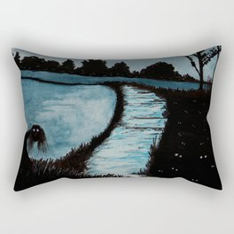 Night Creepers Rectangular Pillow