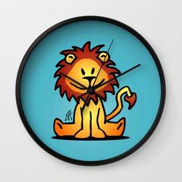 Cute little lion Wall Clock