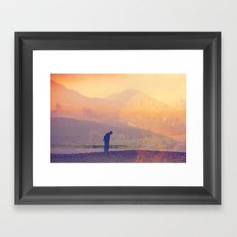 4 Exposure Framed Art Print