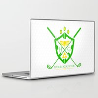 hyrule Laptop & iPad Skins featuring Hyrule Golf by reyrol