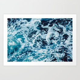 Lovely Seas Art Print