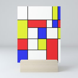 Mondrian #23 Mini Art Print