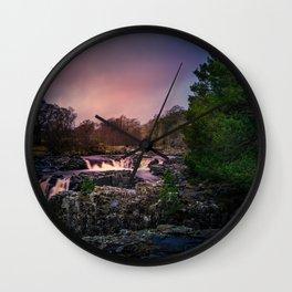 Low Force Waterfall Wall Clock