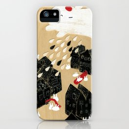 Rain of Terror iPhone Case