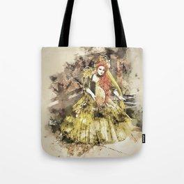 Madonna della Verde Watercolour Tote Bag