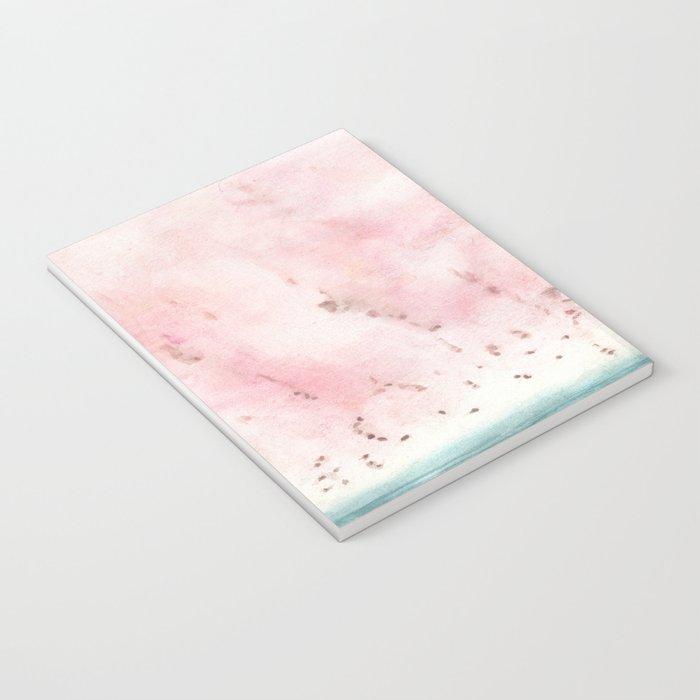 coral skies Notebook