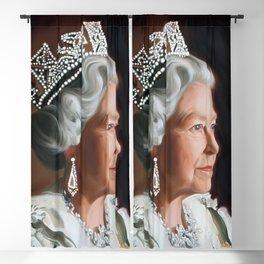 QUEEN ELIZABETH II  Blackout Curtain