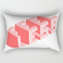 Times are tough Rectangular Pillow